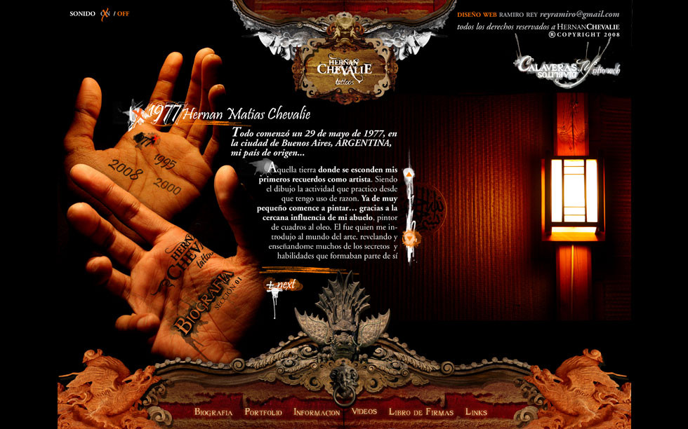 Calaveras & Diablitos Web