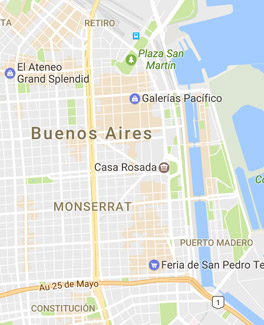 Buenos Aires Map